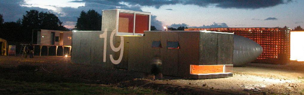 Mobiles Ateliergebäude