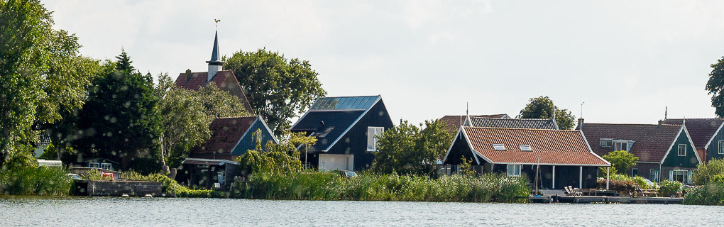 Wohnhaus am Wasser, Tragkonstruktion Brettsperrholz