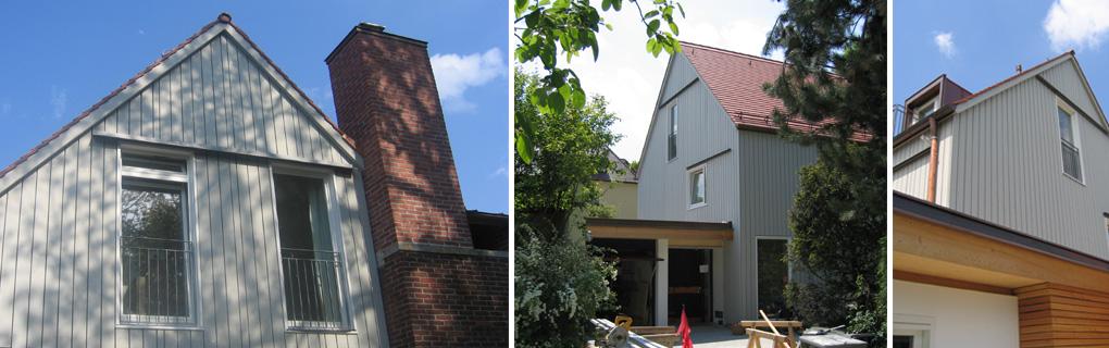 Umbau u. Aufstockung eines Stadthauses